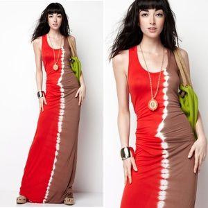 Young Fabulous & Broke Dresses - Young Fabulous & Broke Hamptons Tie-Dye Maxi Dress